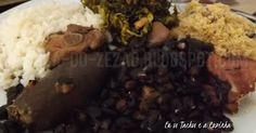 Eu os Tachos e a Cozinha: Domingo Gordo com feijoada brasileira