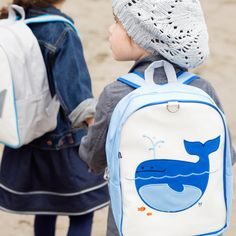 Lucas the Whale Little Kid Backpack: Official Beatrix New York Site