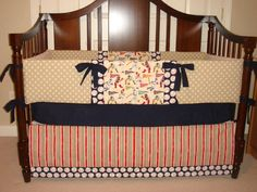 Crib Bedding Baby Boy Set Baseball Boys Design Your Own Made To Order On Etsy 250 00 Cricut Pinterest S