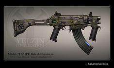 Model 72 SMPE Bolesjnikovnaja by BlackDonner