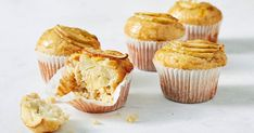Freeze a batch of our delicious apple-custard muffins and they'll keep for up to three months. Is it afternoon tea time yet?
