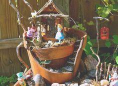 Alice In Wonderland Fairy Garden | Pleasant to be able to my own weblog, in this particular period We'll teach you regarding Alice In Wonderland Fairy...