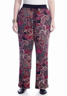 New Directions  Plus Size Crepe Soft Pant