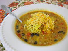 Plain Chicken: Queso Soup