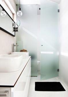 Awesome Bathroom Glass Enclosure Frameless and Shower Doors Frosted Shower Doors, Glass Shower Doors, Glass Bathroom, Bathroom Renos, Small Bathroom, Hidden Toilet, Glass Closet Doors, Contemporary Bathroom Designs, Master Bath Remodel