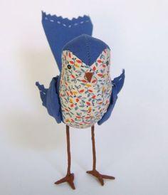 Cloth Bird by Ann Wood