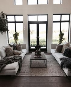38 modern living room decorating ideas 22 - Living Room Decor - Home Modern Minimalist Living Room, Living Room Modern, Small Living, Contemporary Living Room Decor Ideas, Grey Living Room Rug, Living Room Decor Black And White, Living Room Decor Elegant, Modern Couch, Contemporary Kitchens