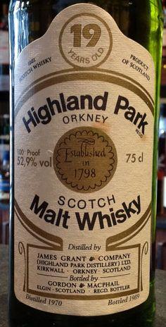 Highland Park 19yo 1970/1989 52.9%