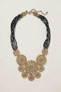 Clavel Bib Necklace on Wanelo