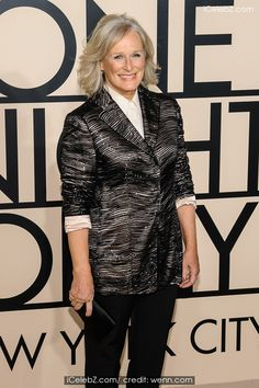 Glenn Close ( Giorgio Armani new york fashion show) See more http://www.icelebz.com/events/giorgio_armani_new_york_fashion_show/
