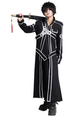 SAO Anime Sword Art Online Kirito Cosplay Costume(SAO I,Men-XXL): We have many years of experience in production and sales.If you can't find related products or have recommended,please feel free to contact us! Anime Cosplay Costumes, Male Cosplay, Best Cosplay, Cool Costumes, Halloween Costumes, Sword Art Online Cosplay, Sword Art Online Kirito, Kangaroo Costume, Anime Forum