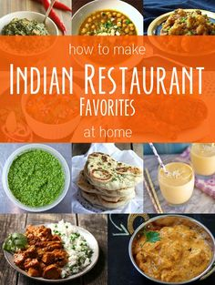 Indian favorites at home