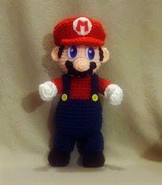 WolfDreamer: Mario Plushie Free crochet pattern.