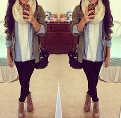 Cute outfit for winter or fall