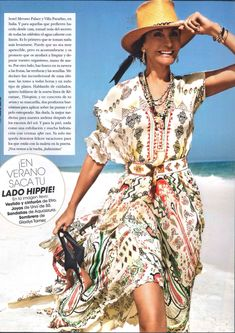 Beautiful Naty Abascal wearing Etro on Hola Fashion Spain #ETRO #ETROWoman #NatyAbascal @HOLAFashion