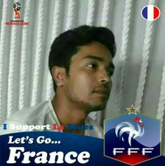 Now there is only one thing in our country whether fans of any football team. But most of the groups are fans genetically Or less understand the football game Or see the number of cup But I am a fan of my favorite footballer Zinedine Zidane. And support the team of his country (France).  #Pogba #Griezmann #Giroud #Matuidi #Fekir #Mbappe #Rami #Umtiti #Dembele #Kante