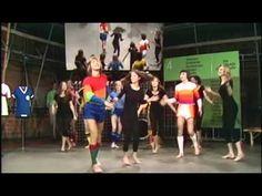 ZwWdF-Classics: Tänzerische Trikot-Vorstellung im aktuellen Sportstudio. Social Content