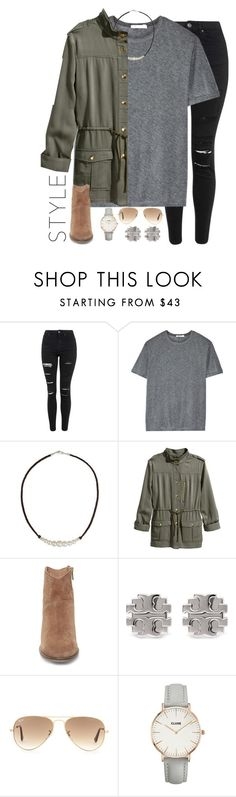 """raise your hand if you're gonna be alone on V-Day✋"" by emmig02 ❤ liked on Polyvore featuring moda, Topshop, T By Alexander Wang, NOVICA, H&M, Steve Madden, Tory Burch, Ray-Ban, women's clothing y women's fashion"