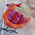 L'oiseau n°26 du Bird Dance de Sue Spargo - Patchelle and co