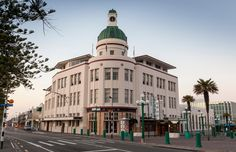 The Temperance & General Building is one of Napier's most beloved landmarks