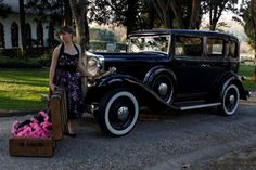 """The first car of Robert Craig Hupp was built in 1908 in De Troit. In 1938 Hup Mobile had acquired the presses with which the Cord 812 was built although this is a 1932 model """"S"""" with a 70 bhp six cylinder engine. """"She is still from her Mother"""". She was added 3rd to the collection."""