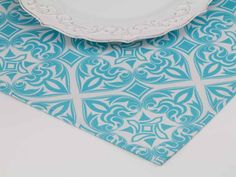 Artisan Place Mat in Coastal from Southern Sisters Home