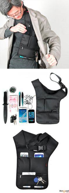 US$12.39 + Free Shipping. Hidden Shoulder Bag, Oxter Invisible Bag, Crossbody Bag, Multi-functional Bag, Burglarproof Storage Bag. Material: Nylon. >>> To View Further, Visit Now.