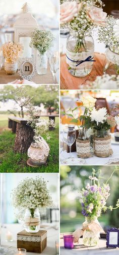 Vintage Wedding Ideas - 50 ways to incorporate lace into your vintage themed wedding