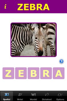 App for kids to learn how to spell and sound out words.