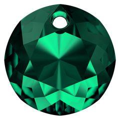SWAROVSKI® 6430 Classic Cut Pendant (205 Emerald) Swarovski, Illusion Art, Illusions, Emerald, Innovation, Spring Summer, Pendant, Classic, Decor