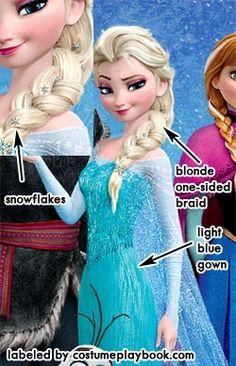 Dress up as Snow Queen Elsa from Frozen