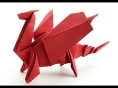 Origami Dragon instructions