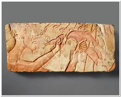Akhenaten Sacrificing a Duck Period: New Kingdom, Amarna Period Dynasty: Dynasty 18 Reign: reign of Akhenaten Date: ca. 1353–1336 B.C. Geography: From Egypt, Middle Egypt, el-Amarna probably; Hermopolis possibly Medium: Limestone, paint