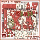 Thicket Christmas 1 Word Book