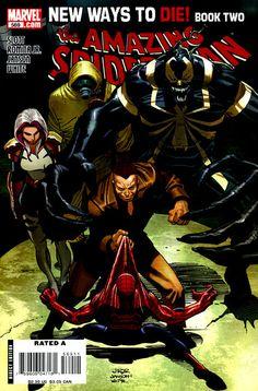 Cover for The Amazing Spider-Man (Marvel, 1999 series) Univers Marvel, Anti Venom Marvel, Online Comic Books, John Romita Jr, Jr Art, Comic Book Collection, Free Comics, Dc Comics, Amazing Spiderman
