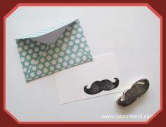 Hoy os traemos una idea para completar un regalo http://www.racoinfantil.com/manualidades/manualidades-con-scrap/sobre-con-tarjeta/?logout=1