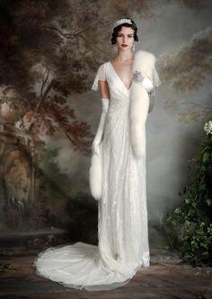 """dieselfutures: """"20s/30s Style Wedding Dresses - Eliza Jane Howell """""""