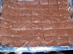 Easiest fudge recipe in the world: 1 can Eagle brand condensed milk (14 oz ); 1 1/2 bags of chocolate chips (11.5 oz bags); 1 cup chopped walnuts. Toss all ingredients in to a mircowave bowl, melt till creamy. pour into a 8x8 baking dish, cool for 2 hours cut and serve.