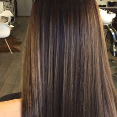 Babylight Colormelt Anyone? Cute Hair Colors, Brown Hair Colors, Hair Colour, Babylights Brunette, Brunette Hair, Balayage Straight Hair, Balayage Hair, Sams Hair, Light Hair