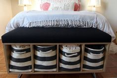 Small Space Living Tips - Real Apartment Decor, Storage