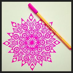 Let's kick the week off with a little pink love!! #draw #drawing #doodle #doodling #doodleart #mandala #pattern #design #paper #pen #stabilo88 #ink #tattoo #art #myart #boho #gypsy #hippie #hippy #inspired #sketch #wip #inktober #day27