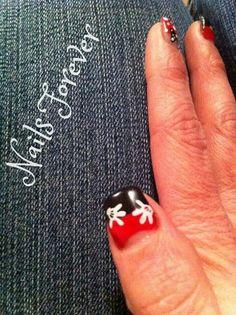 Gel Nails 2014 - Mickey and Mini gel nails ♥
