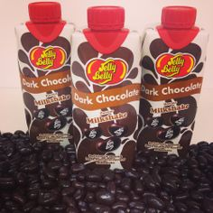 Jelly Belly Milkshakes have launched in the UK, with three luxurious flavours: Dark Chocolate, Top Banana and French Vanilla! Buy Dark Chocolate Jelly Belly Milkshake from your local Tesco! Jelly Belly Beans, Jelly Beans, Milkshake Flavours, Cloud Wallpaper, Chocolate Milkshake, Top Banana, Best Candy, French Vanilla, Candy Shop