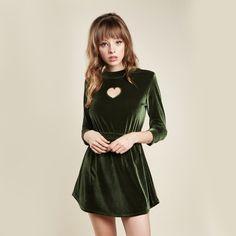 Winona Dress (Green) Valfre.com