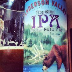 Cerveja do dia: Anderson Valley Hop Ottin' IPA (7,0% / Boonville, Califórnia - Estados Unidos) #cervejadodia