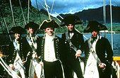 THE BOUNTY (1984) MEL GIBSON, ANTHONY HOPKINS, DANIEL DAY-LEWIS BOU 027 - Stock Photo