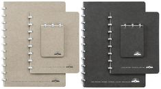 Atoma Notebooks. German made. I always like to have a good notebook.