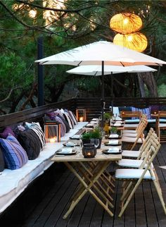 The terrace at Praia Verde Hotel in Algrave, Portugal