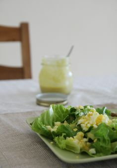 egg salad and mustard dressing1