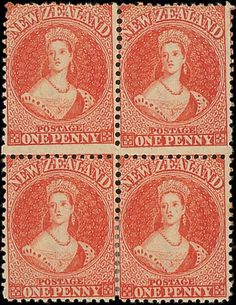 Spink UK / The 'Pegasus' Collection of Important Classic New Zealand - / The Chalon Issues / Lot The Chalon Issues Watermark Large Star, Perforated (Line or Comb) Postage Stamp Art, Vintage Stamps, Queen Victoria, Vintage World Maps, Mad, Vibrant Colors, The Past, Auction, Stars